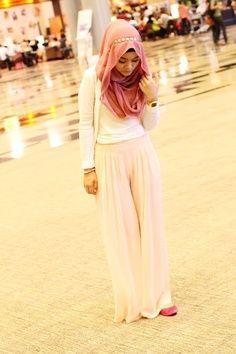 Pink Pants and Hijab | Hashtag Hijab
