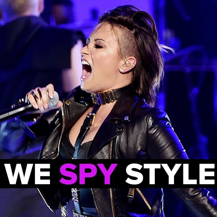 Pin for Later: We Spy: Is Shaving Your Head Like Demi Lovato the New Lob?