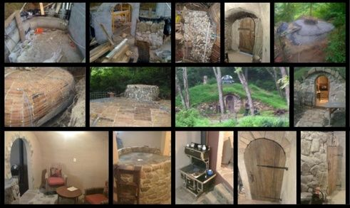 how to build a hobbit house for children