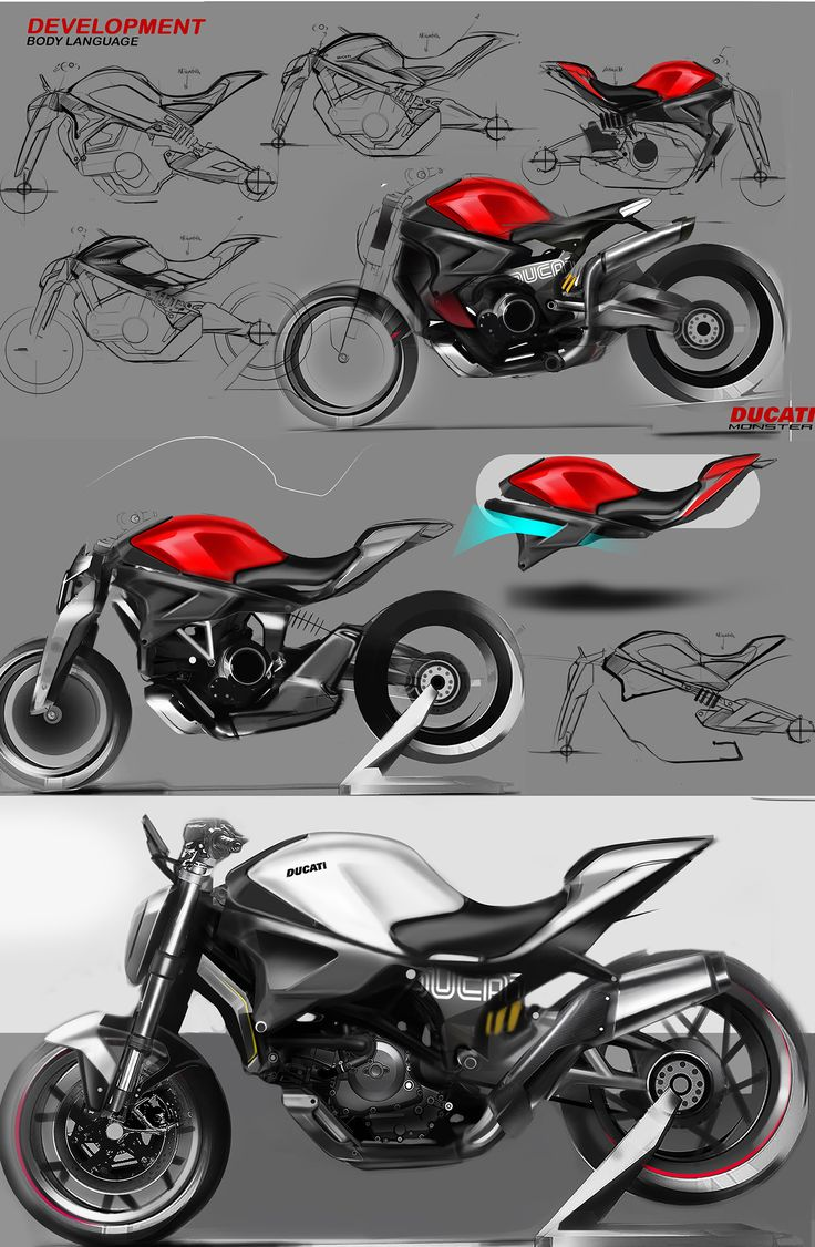 Concept idea for Ducati Monster