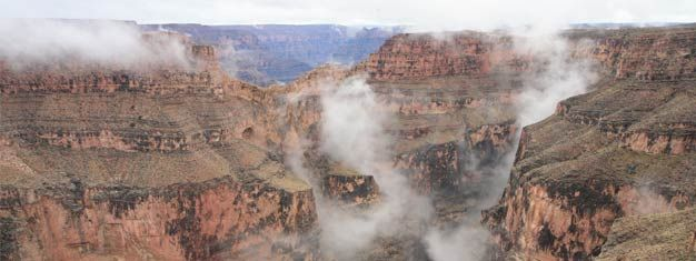 Billetter til Grand Canyon South Rim-tur || LasVegasBilletter.no