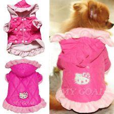 Pet Cute Cotton Coat Dog Winter Jumpsuit Clothes Puppy Jacket Costume Apparel