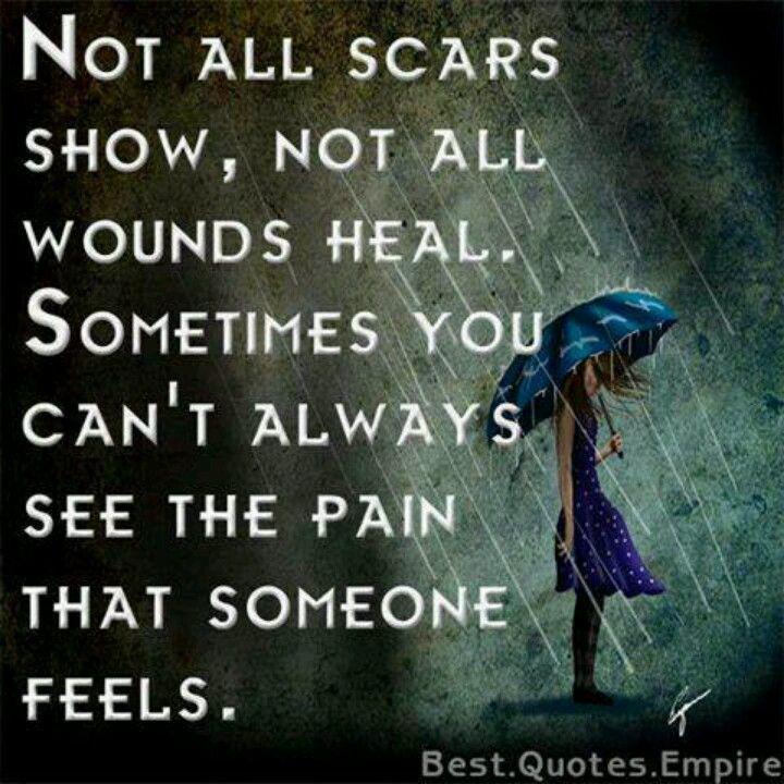 Inner pain is so hard. Quotes I Love Pinterest