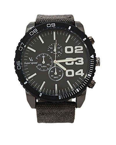 SAMGU Luxury Sport Herren Armbanduhr große Zifferblatt Jahrgang Stoff Band Outdoor Uhr - http://on-line-kaufen.de/samgu/samgu-luxury-sport-herren-armbanduhr-grosse-band