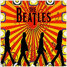 Beatles 01- Coleção de quadrinhos confeccionados em Azulejo no tamanho 15x15 cm. Tem um ganchinho no verso para fixar na parede. Para entrar em contato conosco, acesse: www.babadocerto.c...