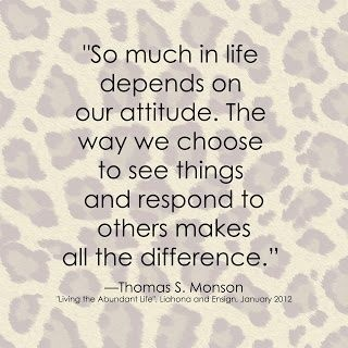 todo depende de tu actitud