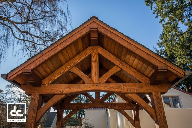 Timber Frame Pavilion Kits – Outdoor Living