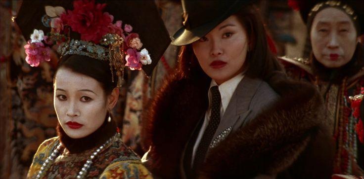 Joan Chen as Empress Wanrong and Maggie Han as Yoshiko Kawashima (Eastern Jewel) in The Last Emperor (1987)