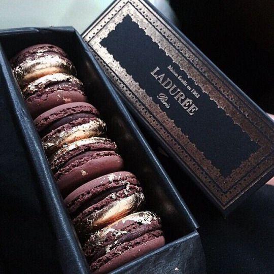 Decadent macrons from Ladurée
