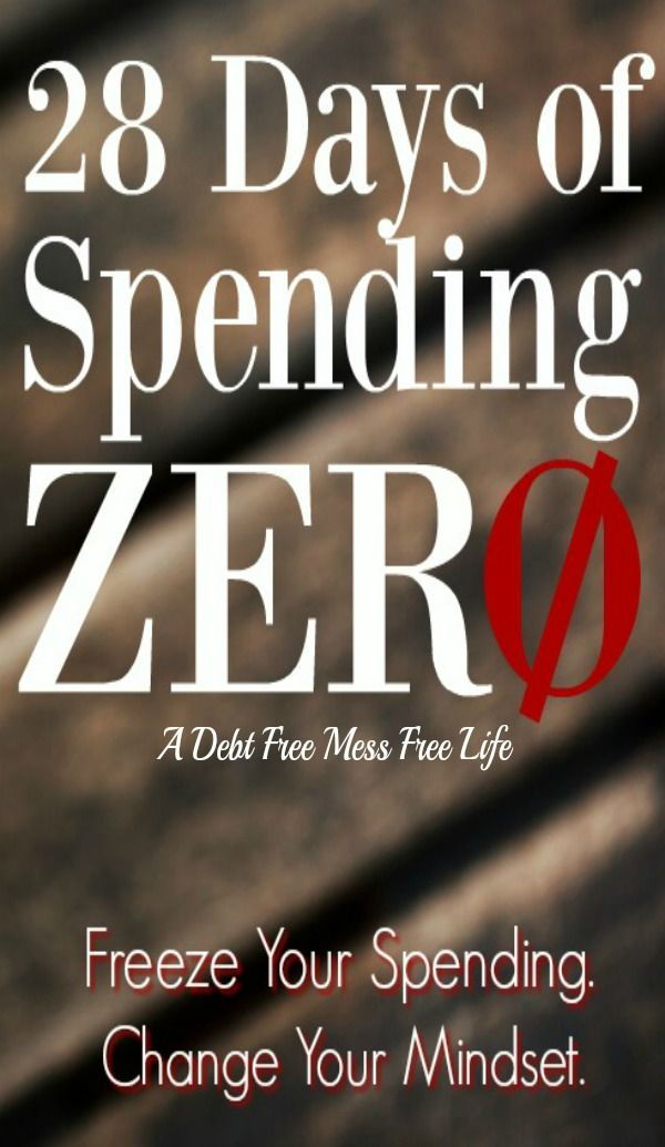 Do you feel like you need to hit the reset button on your spending habits? It's time to freeze your spending and change your mindset. Learn the keys to spending less and living more!