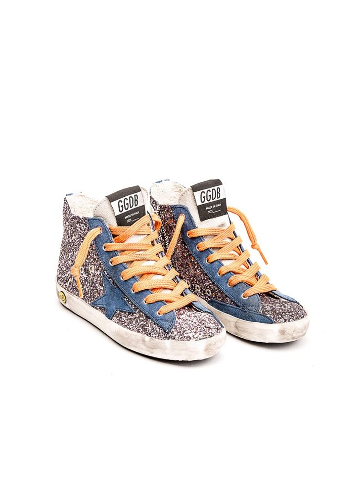 Golden Goose Deluxe Brand - Francy glitter sneakers - made in italy - ZO ET LO EASY SHOPPING WORLDWIDE EXPRESS SHIPPING