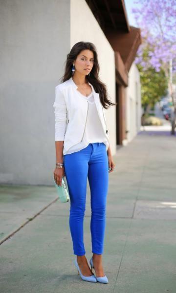 Look Blue Pants