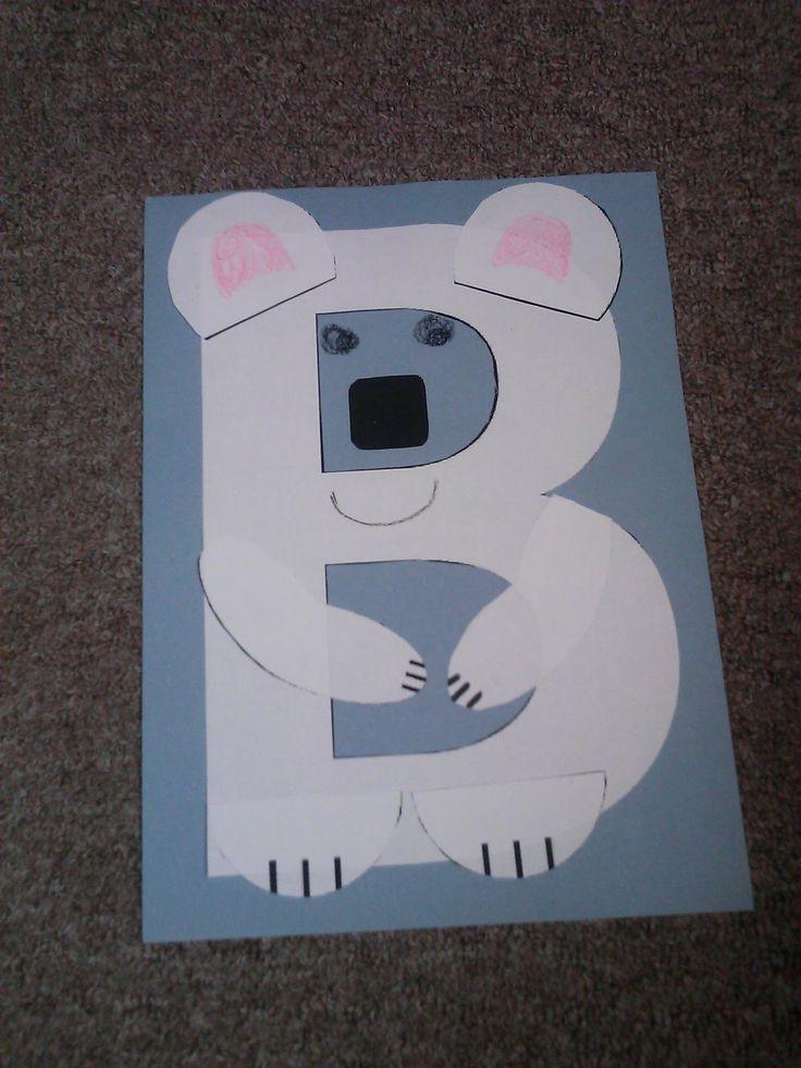 Letter B Story Time Craft Letter B crafts Pinterest
