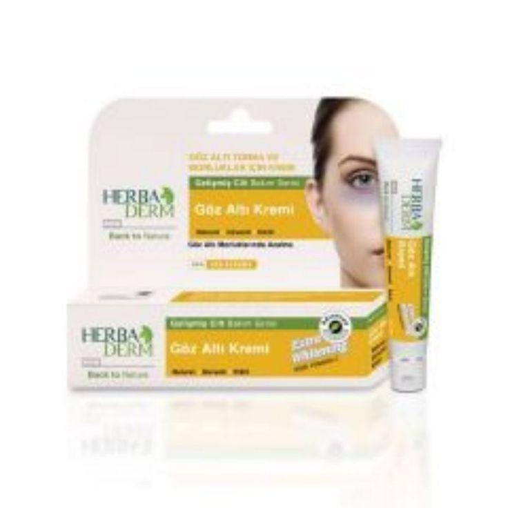 Herbaderm Göz Altı Kremi | Cilt Ürünleri | Cilt Bakım | Natural Eczane Göz altındaki torba ve morlukları azaltır