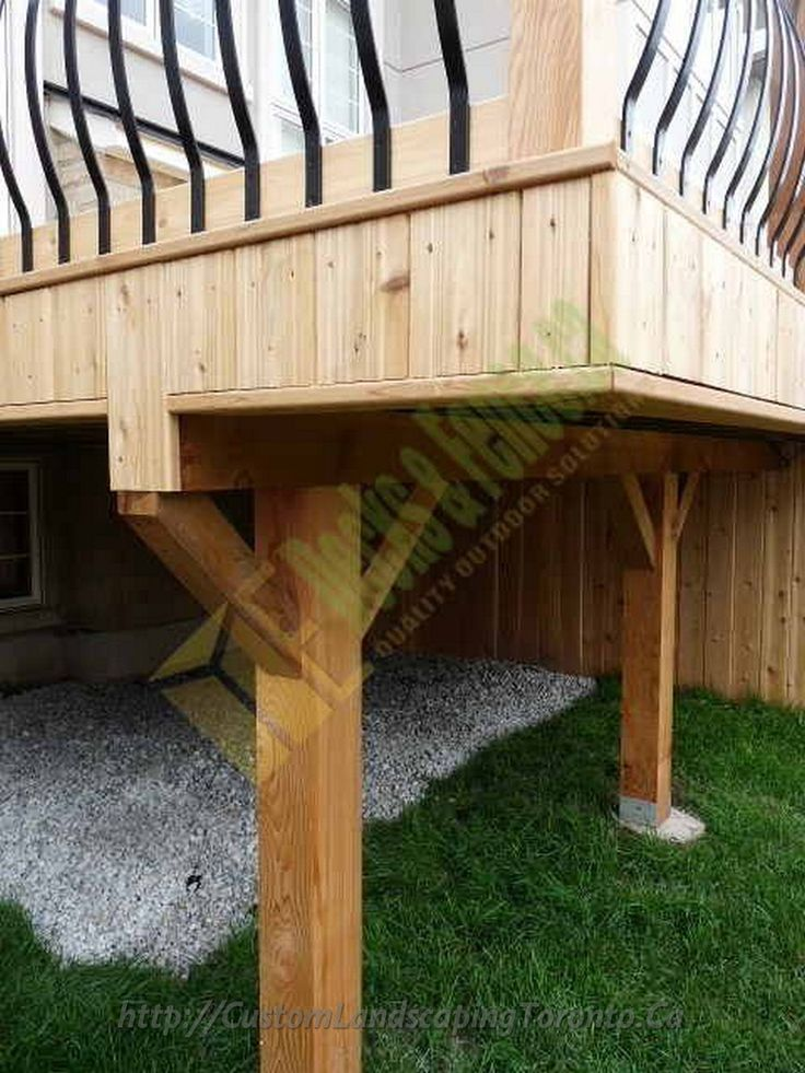 A Covered Deck Edge For A More Finished Look Deck