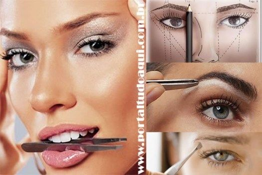 Aprenda a fazer sobrancelhas de acordo com cada Tipo de Rosto