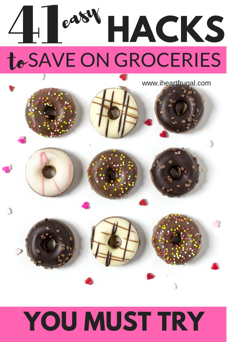 41 Clevere Möglichkeiten, um Ihre Lebensmittelrechnung zu senken – Iheartfrugal   – Frugal Living
