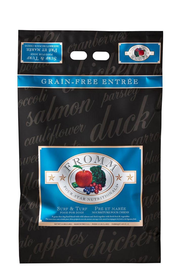 Fromm Dog Food - Four-Star Surf & Turf