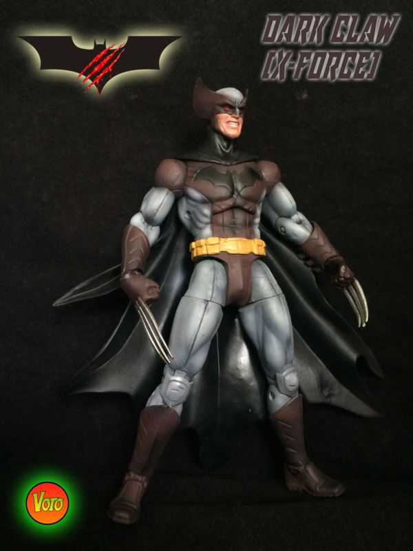 Batman/Wolverine(original design) (Marvel Legends) Custom Action Figure