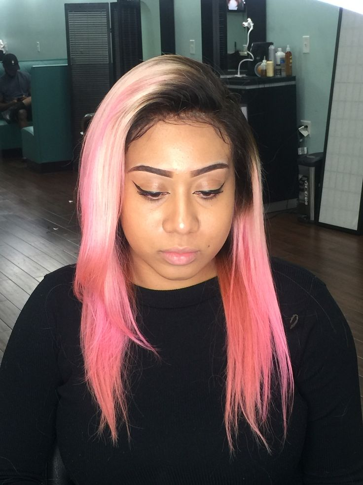 Lace frontal install done by @TheHairSocialite located at Exotic Hair in Brooklyn NY 11203