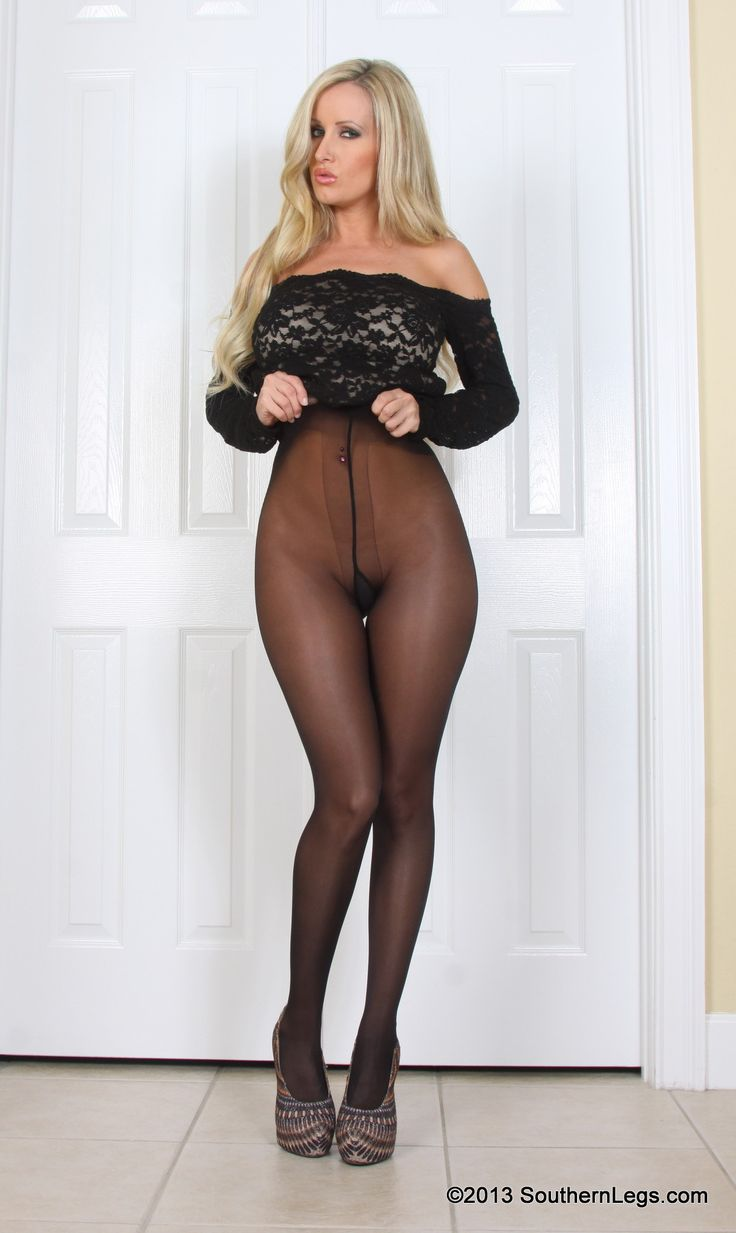 Afternoon pantyhose seduction