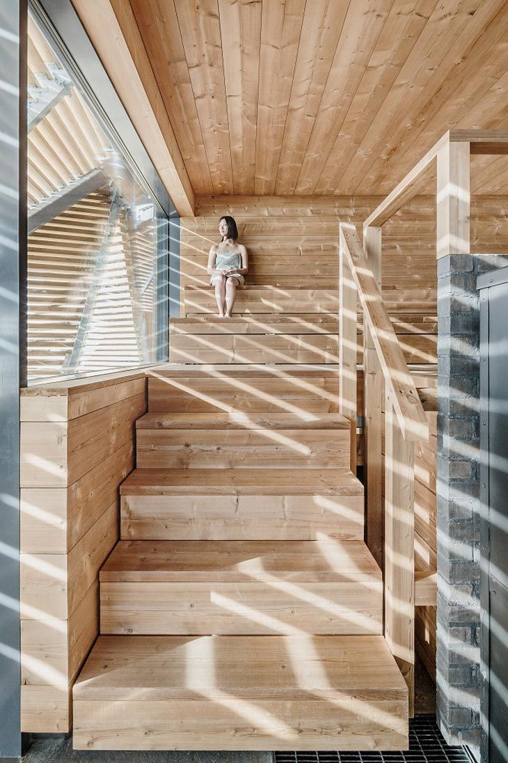 Löyly Sauna by Avanto Architects © Jaroslav Fragner Gallery