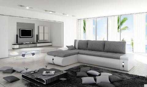 Καναπές γωνία FOGGIA MINI LUX - SOFA KING Έπιπλα για το σπίτι και την επιχείρηση