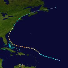 1999 September 17–18 Hurricane Floyd – After paralleling much of the U.S. East Coast, Tropical Storm Floyd moves into Connecticut, and tracks northward through Maine. Floyd causes large power outages and flood damage across the region, with over five inches (130 mm) of rain falling over most of the area.