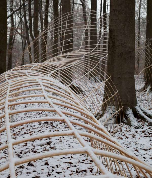 Blair Witch Forest Art - 'La Chasse' by John Grade is a Spooky Installation (GALLERY)