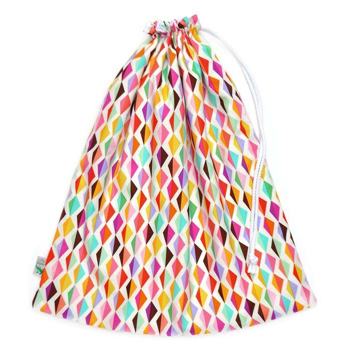 Diamond Ripple Swimming Bag / Waterproof Wet Bag. Perfect for the Pool or Beach. #beach #pool #swimming #swimbag