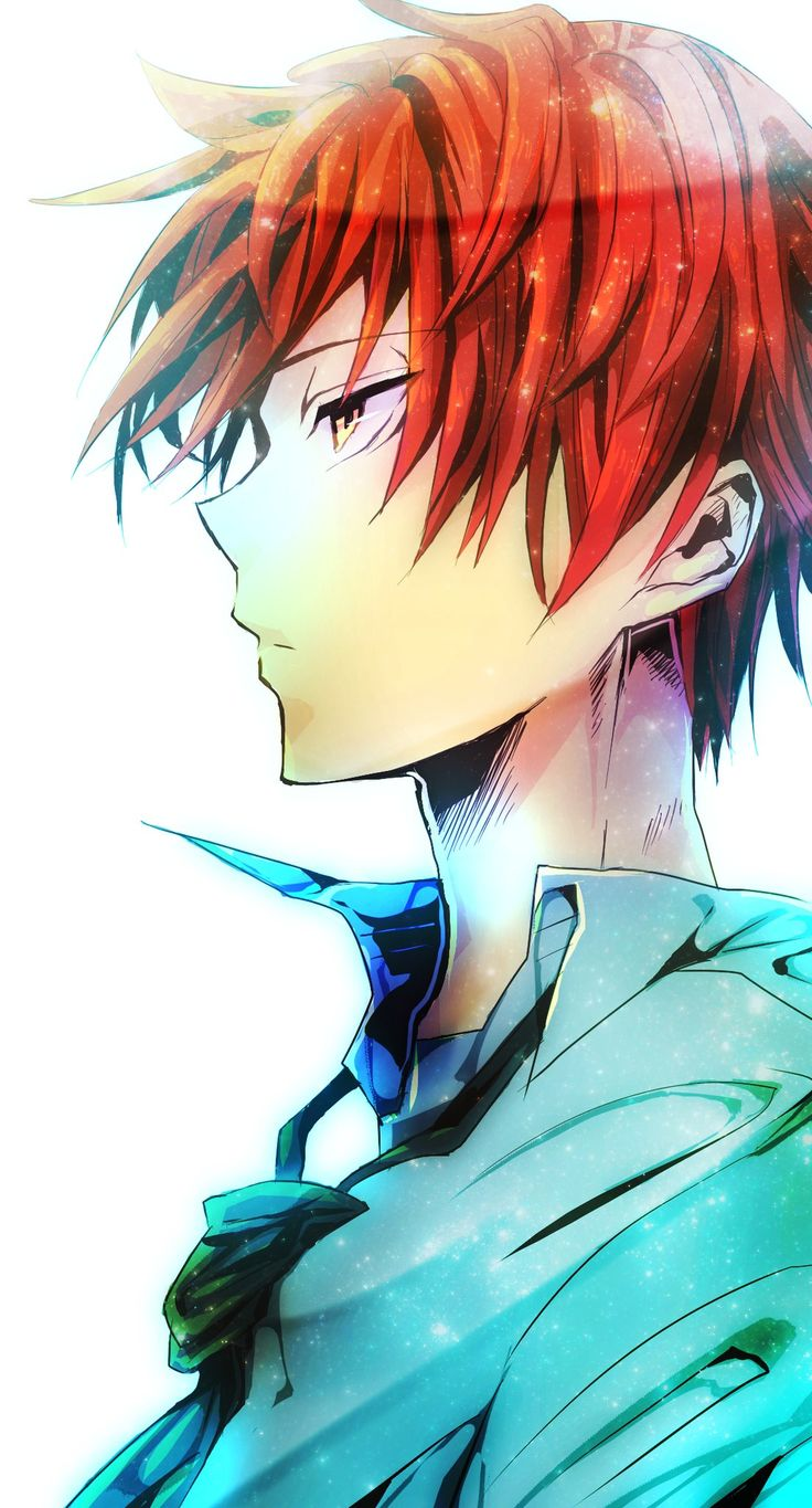 Akashi. Looked like Haruka from free though... Just with red hair