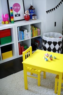 Aniliini - IKEAbordet i gult