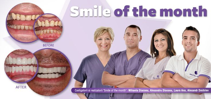 Smile of the month - iulie 2013