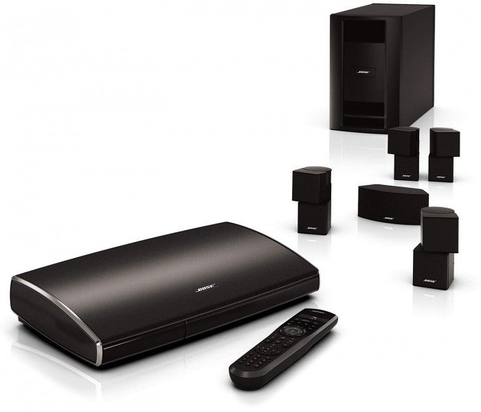 The Bose® Lifestyle® 535 Series II Home Entertainment System deliver vivid surround sound from five dynamic speakers, all for a singular audio experience you'll want to enjoy again and again.