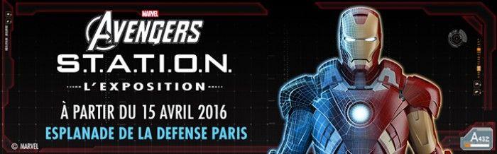 L'Exposition Marvel Avengers: S.T.A.T.I.O.N. arrive en France !
