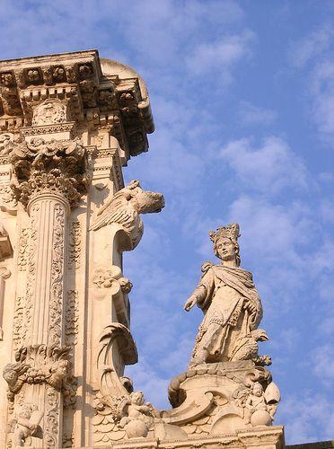 Santa Croce, Lecce, Italy.
