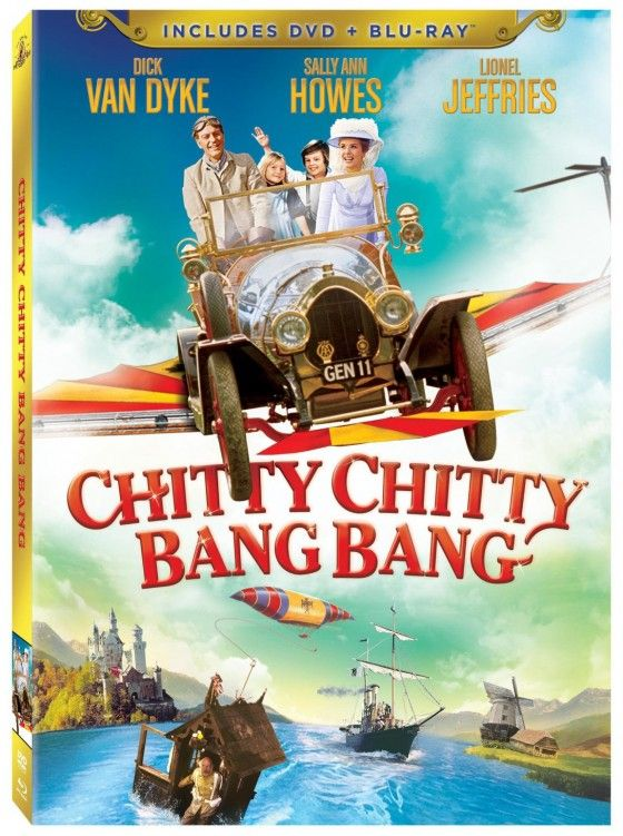"""""""Chitty Chitty Bang Bang"""" I have this urge to go and watch a bunch of old movies. This is definitely a classic :)"""
