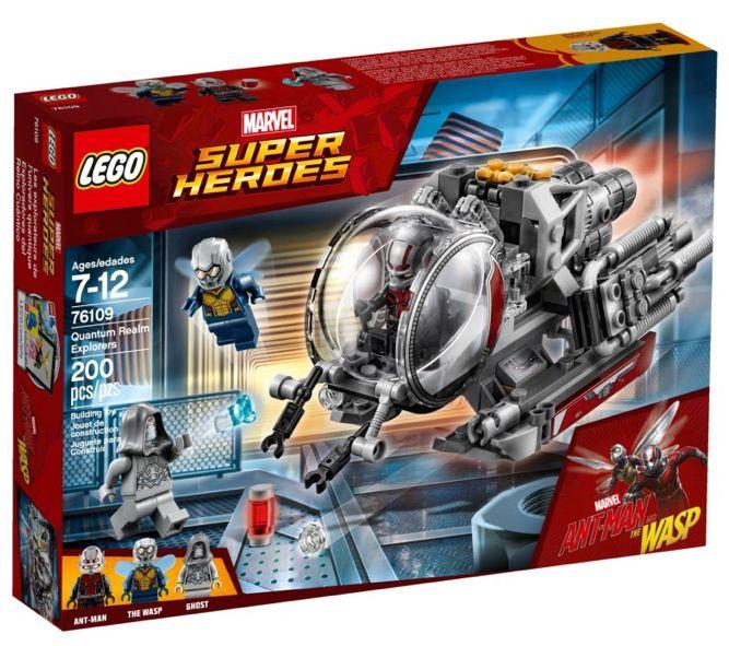 Lego 853611 Marvel Super Heroes Adventures Mini Figure Display Case NEW Sealed