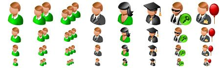 people 16x16 icon images
