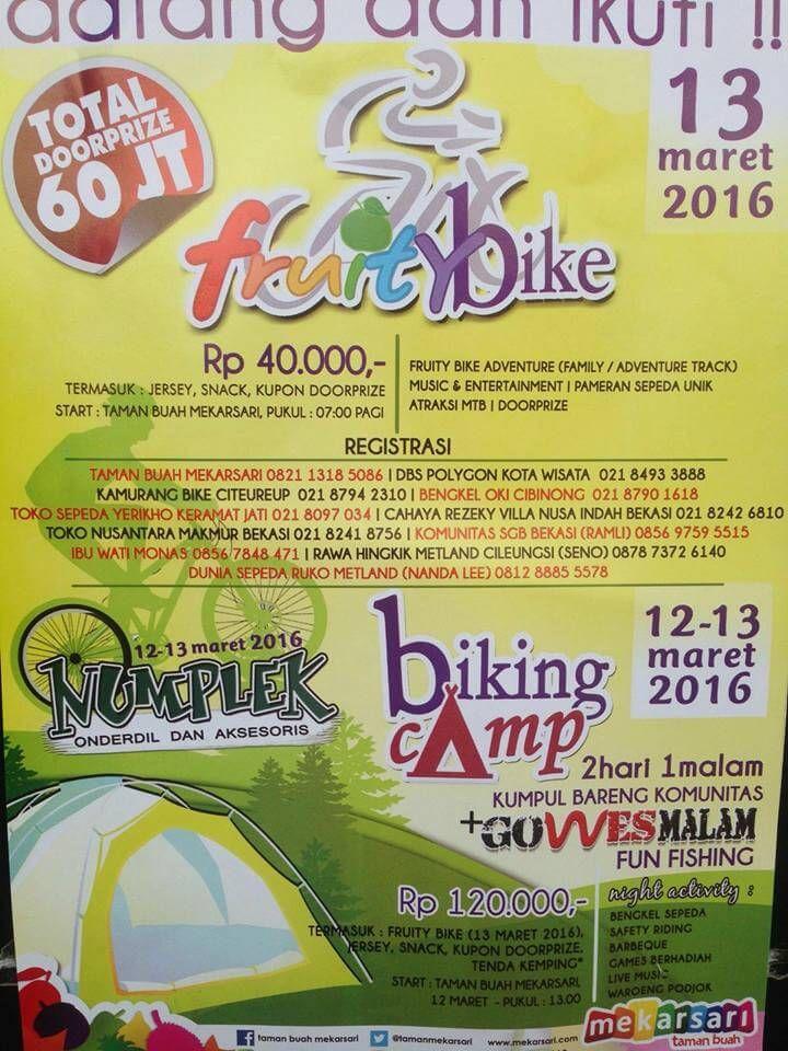 Fun Bike Taman Buah Mekarsari Fruity Bike 2016