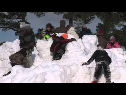 Winter is a Blast in Explorers' Edge - YouTube