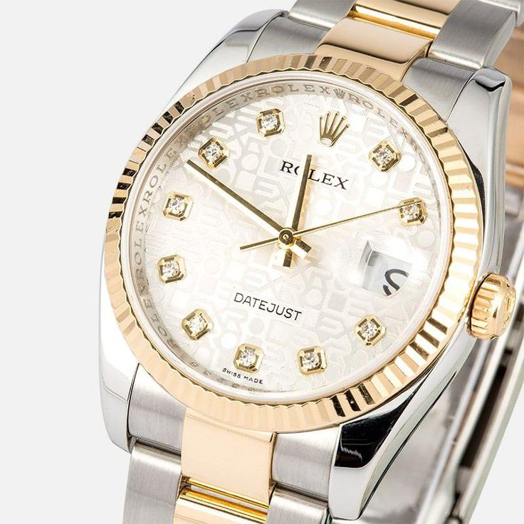 Rolex Datejust 116233 Diamond Jubilee Oyster