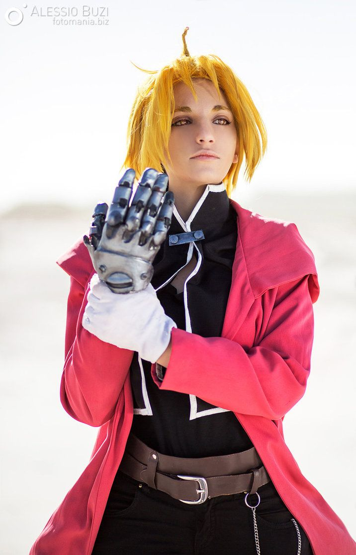 Fullmetall Alchemist - Edward Elric by KICKAcosplay on DeviantArt
