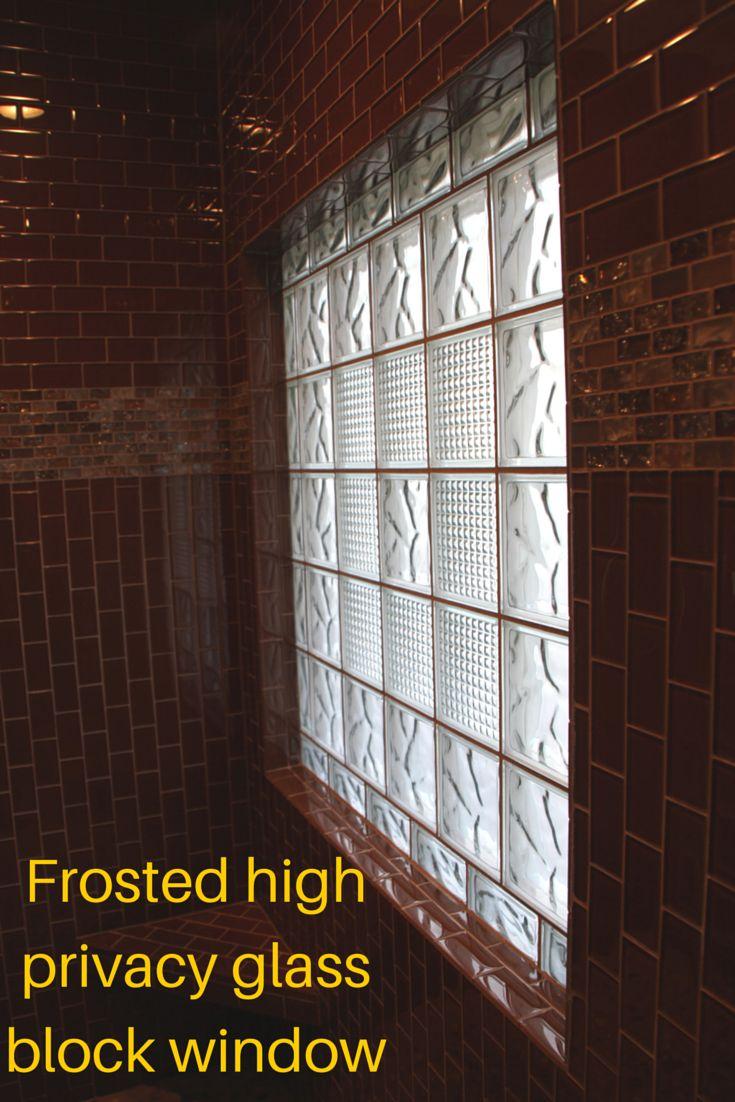 141 Best Glass Block Windows Images On Pinterest Glass
