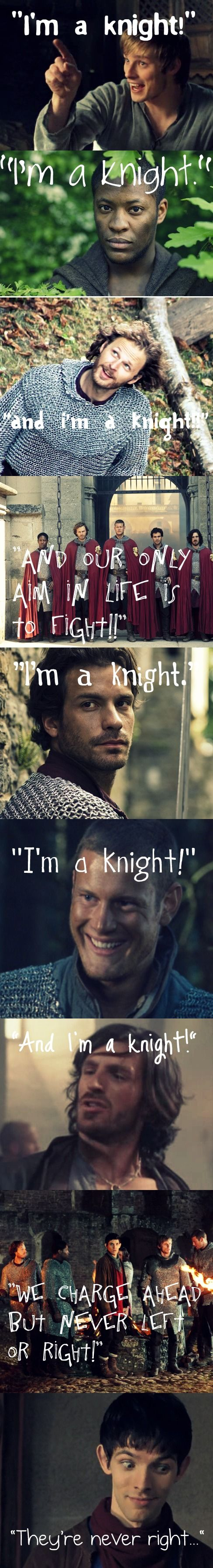 I'm a Knight - Merlin Style Threeeeee by MerlinLemon.deviantart.com on @deviantART