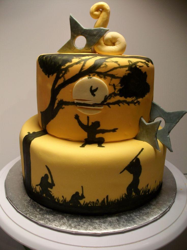 Cake Decoration Ninjago : 1000+ ideas about Ninja Cake on Pinterest Ninja Birthday ...