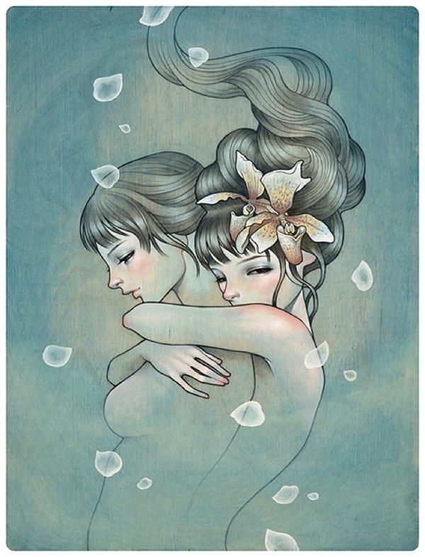 one of my favorite artists, Audrey Kawasaki