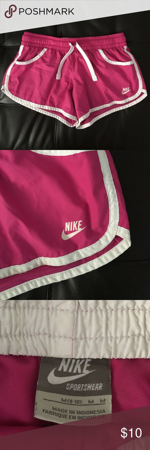 Nike Shorts Pink Women's Nike Shorts. Used but in great condition. Nike Shorts