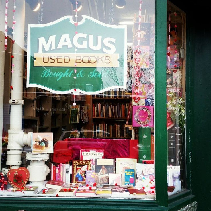 """""""The Bookshop has a thousand books, All colors, hues, and tinges, And every cover is a door That turns on magic hinges.""""  ― Nancy Byrd Turner . . . #magusbooks #udistrict #ud #uw #huskies #seattle #nw #northwest #washington #independent #familyowned #localbusiness #shoplocal #shopsmall #smallbusiness #bookstagram #books #bookstore #booksforsale #usedbooks #bookworm #bibliophile #goread #reading #reader"""
