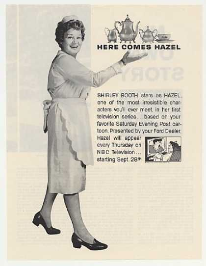 Shirley Booth Hazel NBC TV Show Debut Photo (1961)